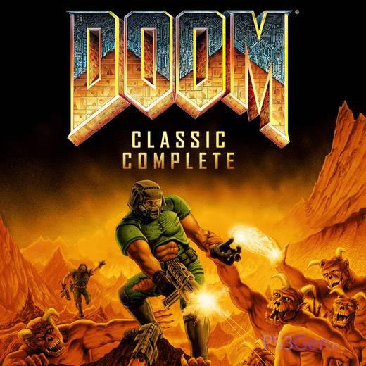 DoomClassicComplete PS3 Jaquette 001