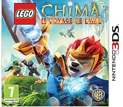 LEGOLegendsofChima-LeVoyagedeLaval 3DS Jaquette 001