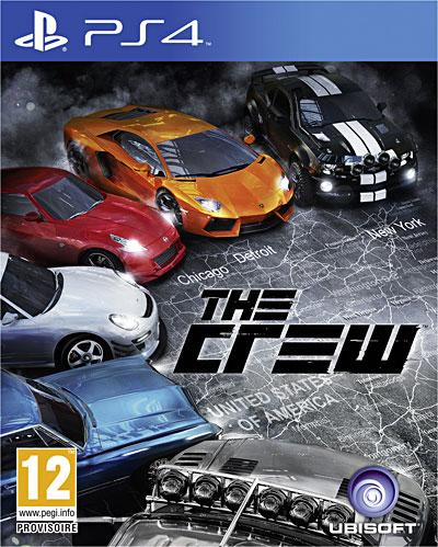 TheCrew PS4 Jaquette 001