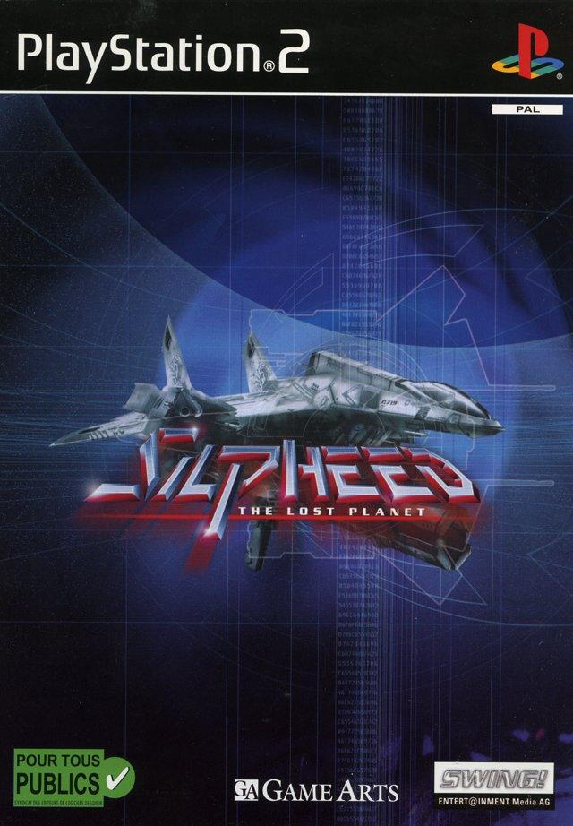 Silpheed-TheLostPlanet PS2 Jaquette 001