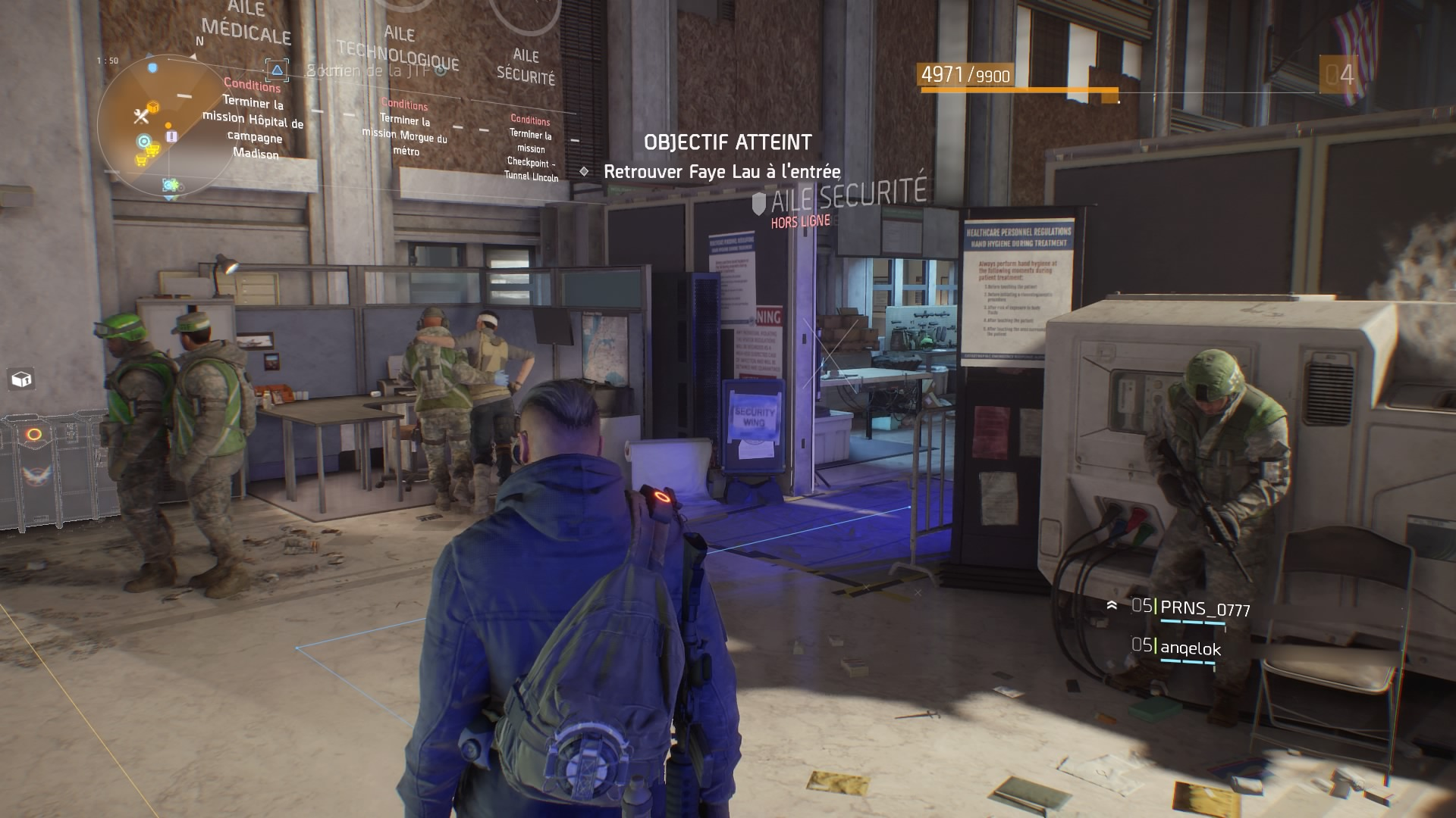 TheDivision PS4 Test 004