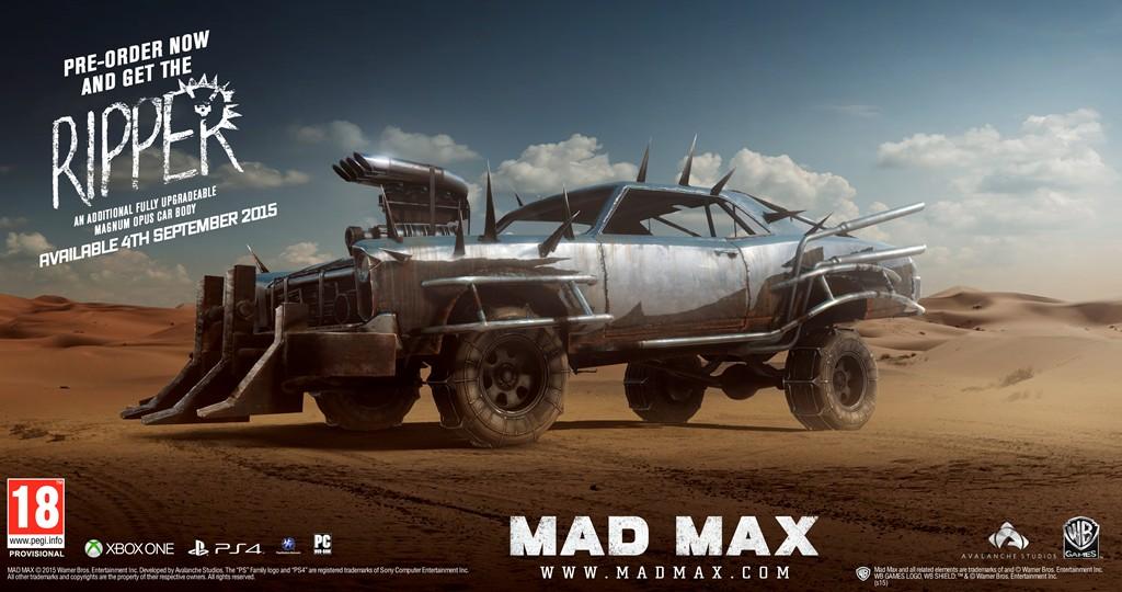 Mad Max precommande