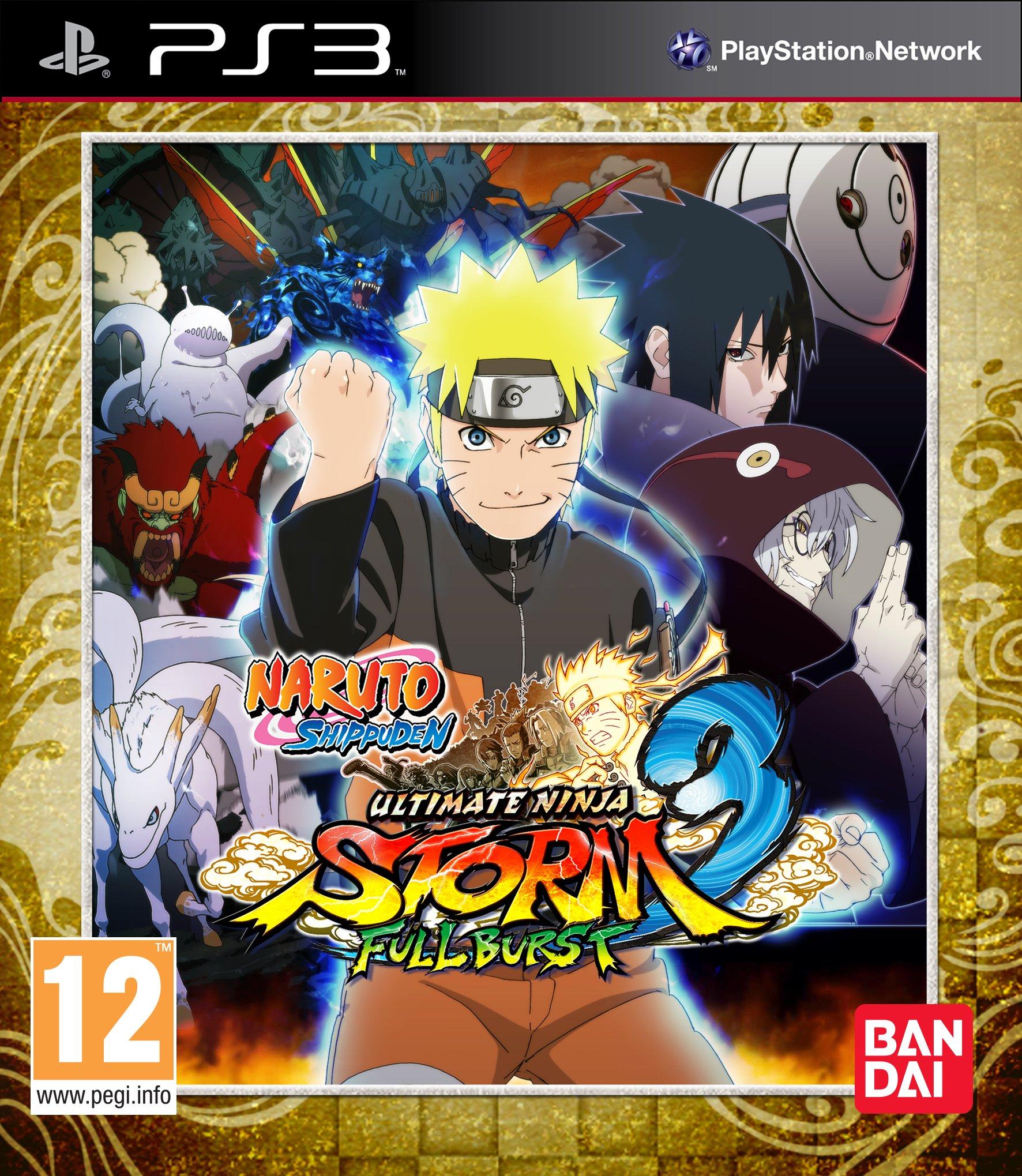 NarutoShippuden-UltimateNinjaStorm3FullBurst PS3 Jaquette 001