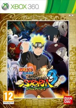 NarutoShippuden-UltimateNinjaStorm3FullBurst 360 Jaquette 001