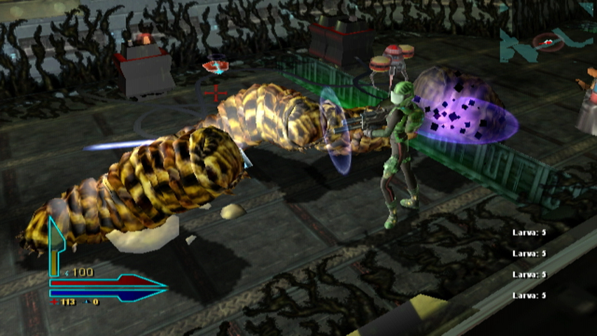 alien syndrome wii ed006
