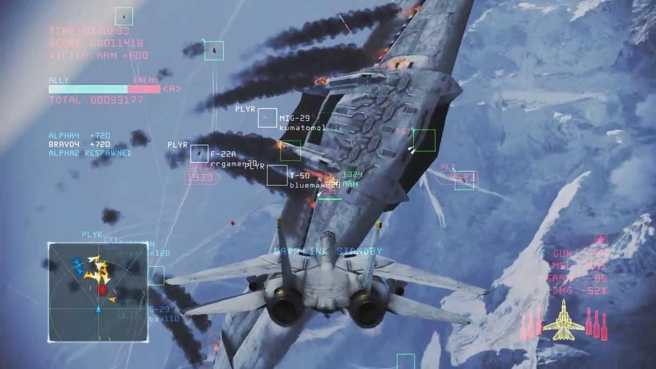 AceCombat-Infinity PS3 Editeur 007