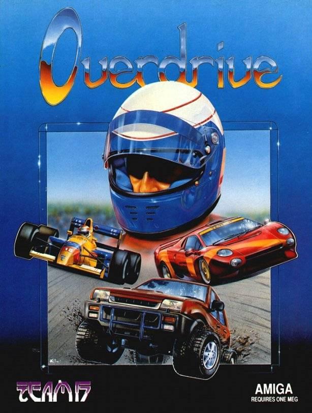 Overdrive Amiga Jaquette 001