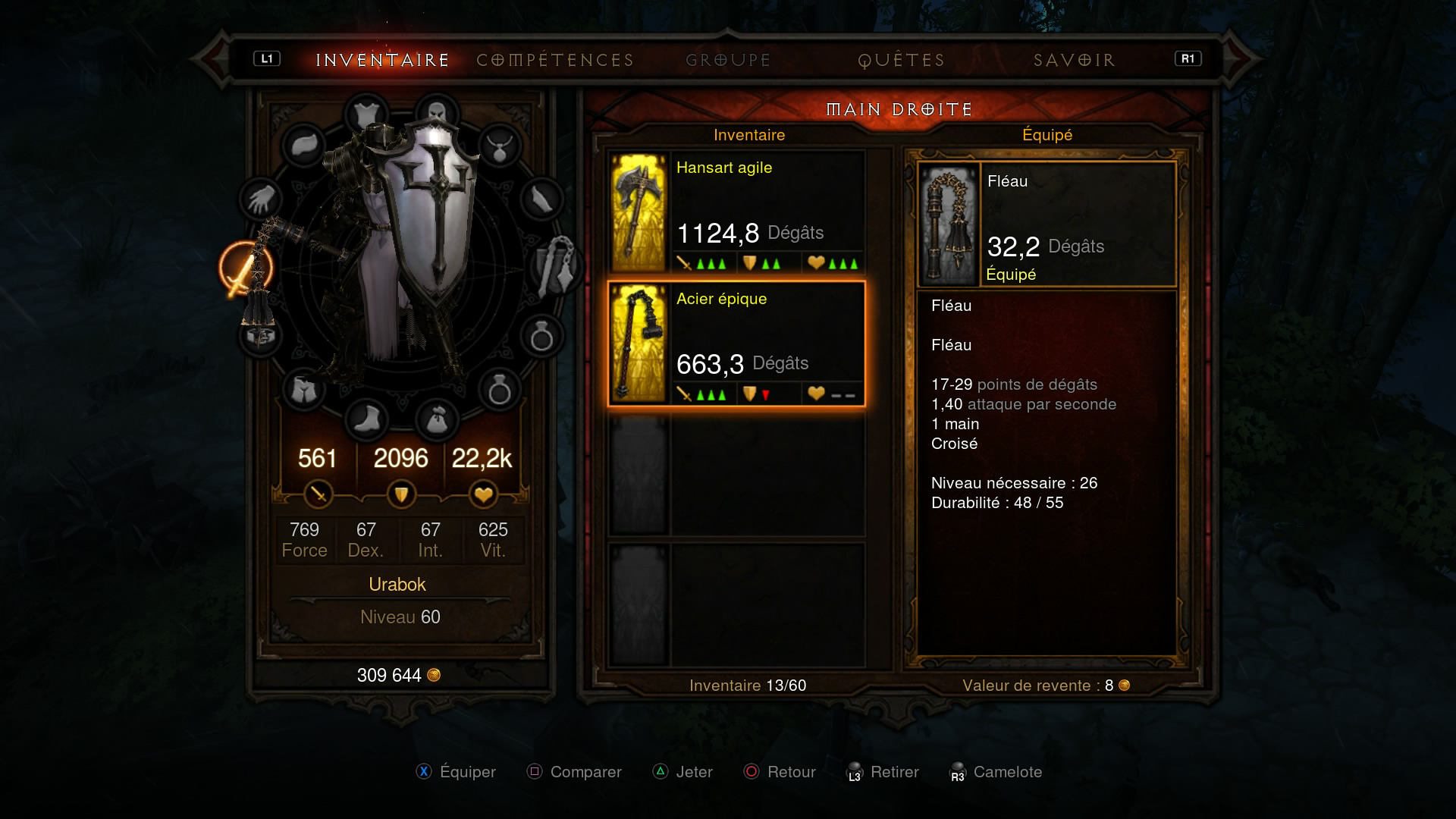 DiabloIII-ReaperofSouls PS4 Editeur 001