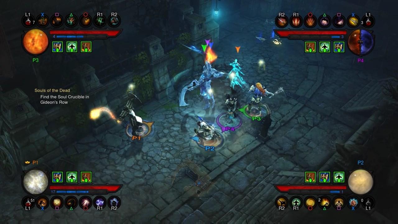 DiabloIII-ReaperofSouls PS4 Editeur 009