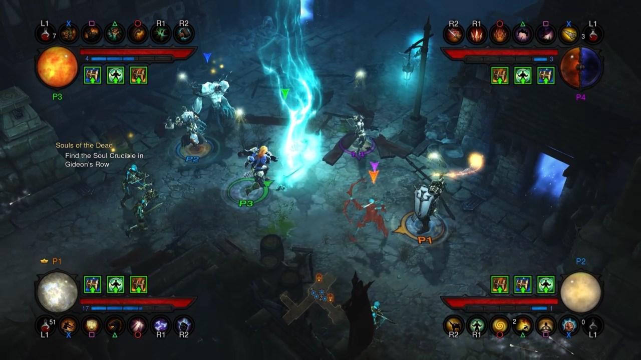DiabloIII-ReaperofSouls PS4 Editeur 011