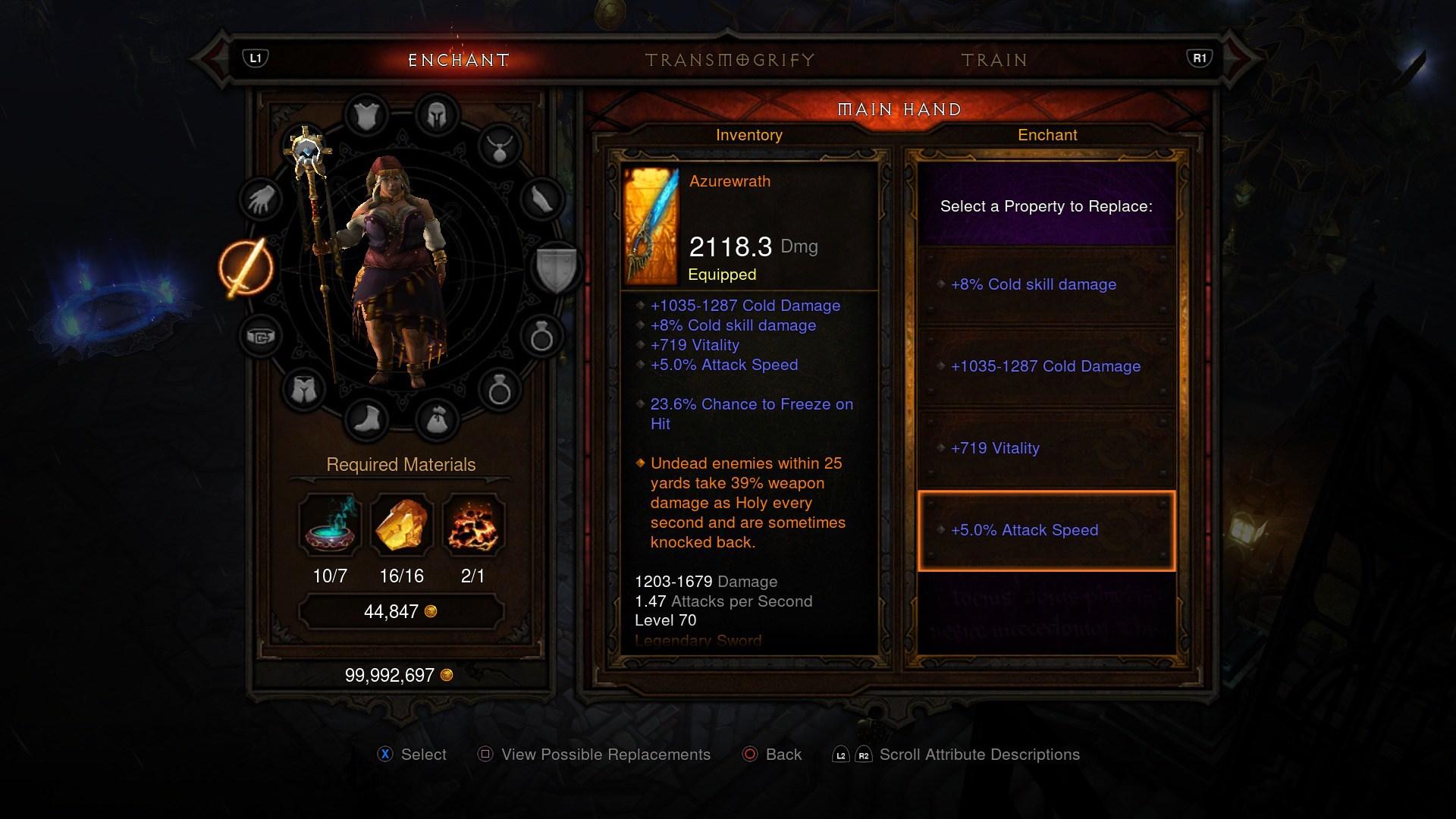 DiabloIII-ReaperofSouls PS4 Editeur 021