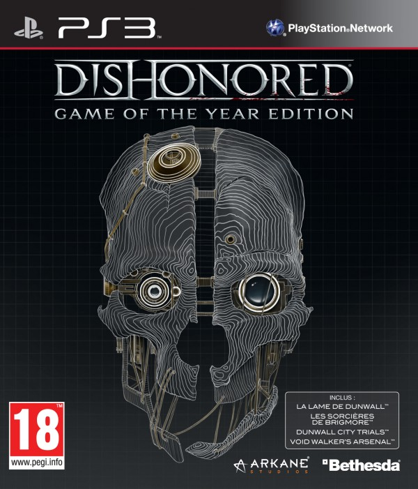 DishonoredGameoftheYearEdition PS3 Jaquette 001