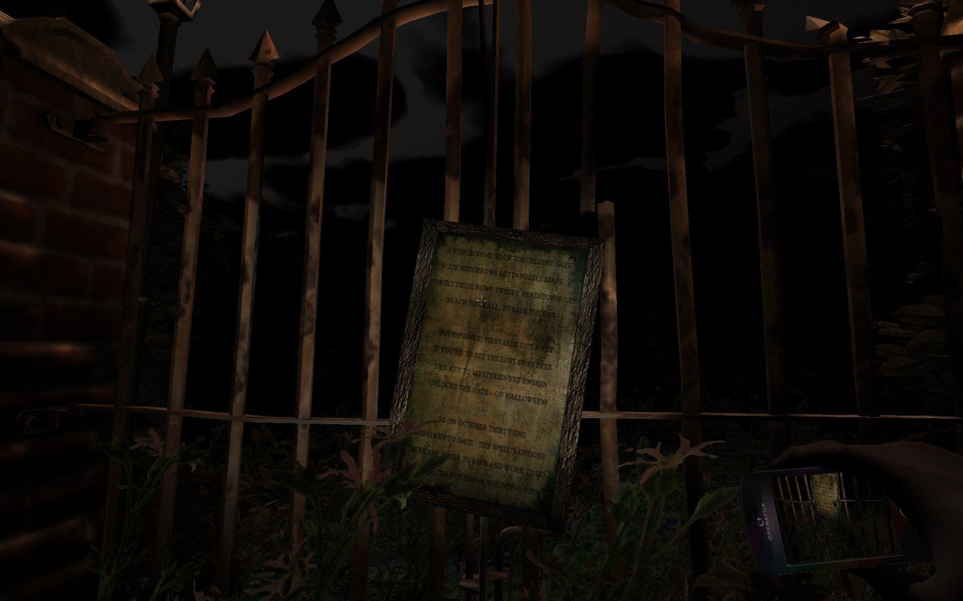Huntsman-TheOrphanage PC Test 001