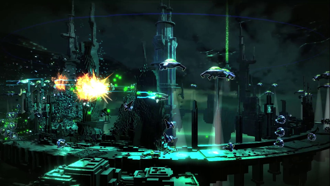 Resogun PS4 Editeur 001