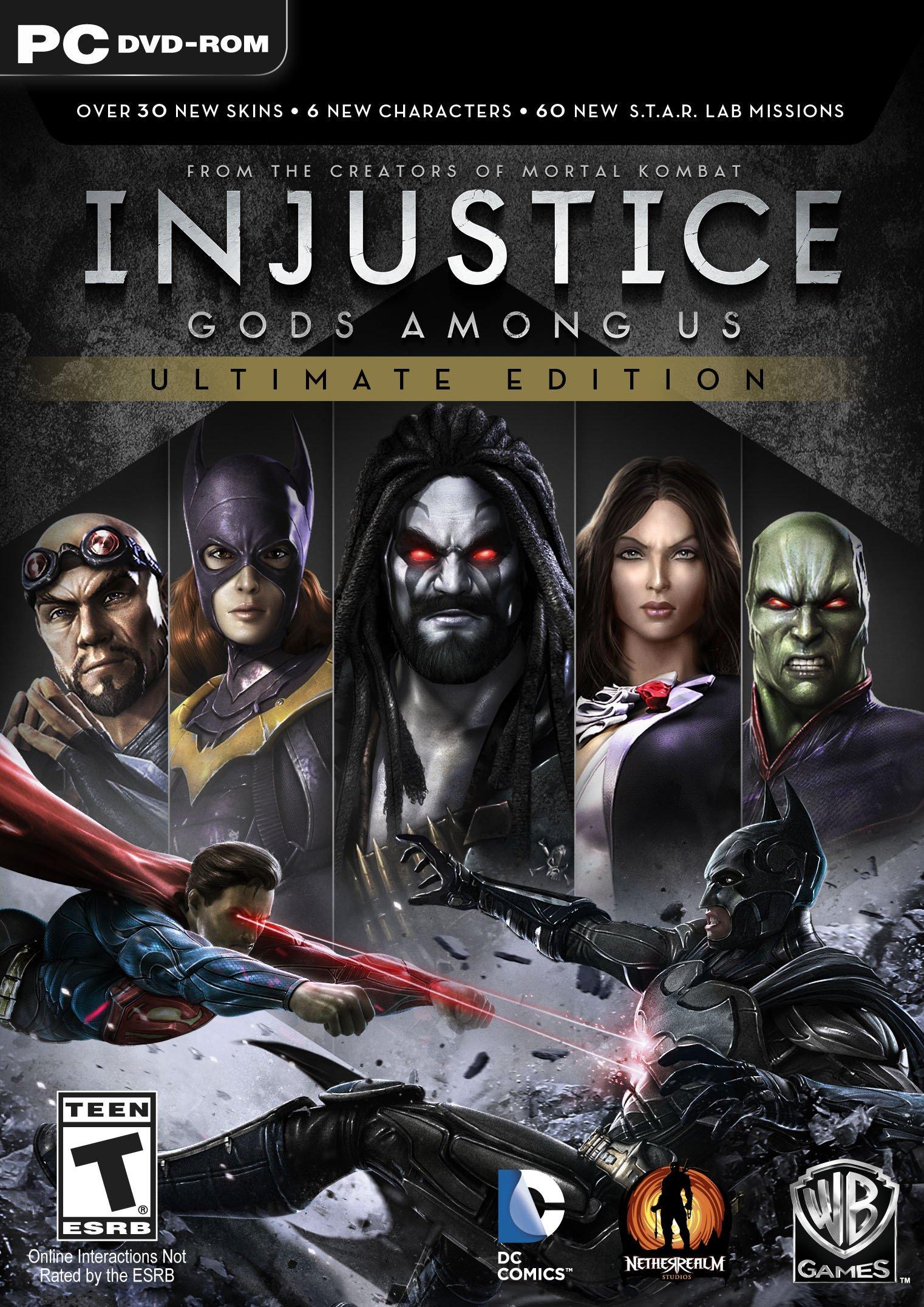 Injustice-LesDieuxSontParmiNousUltimateEdition PC Jaquette 002
