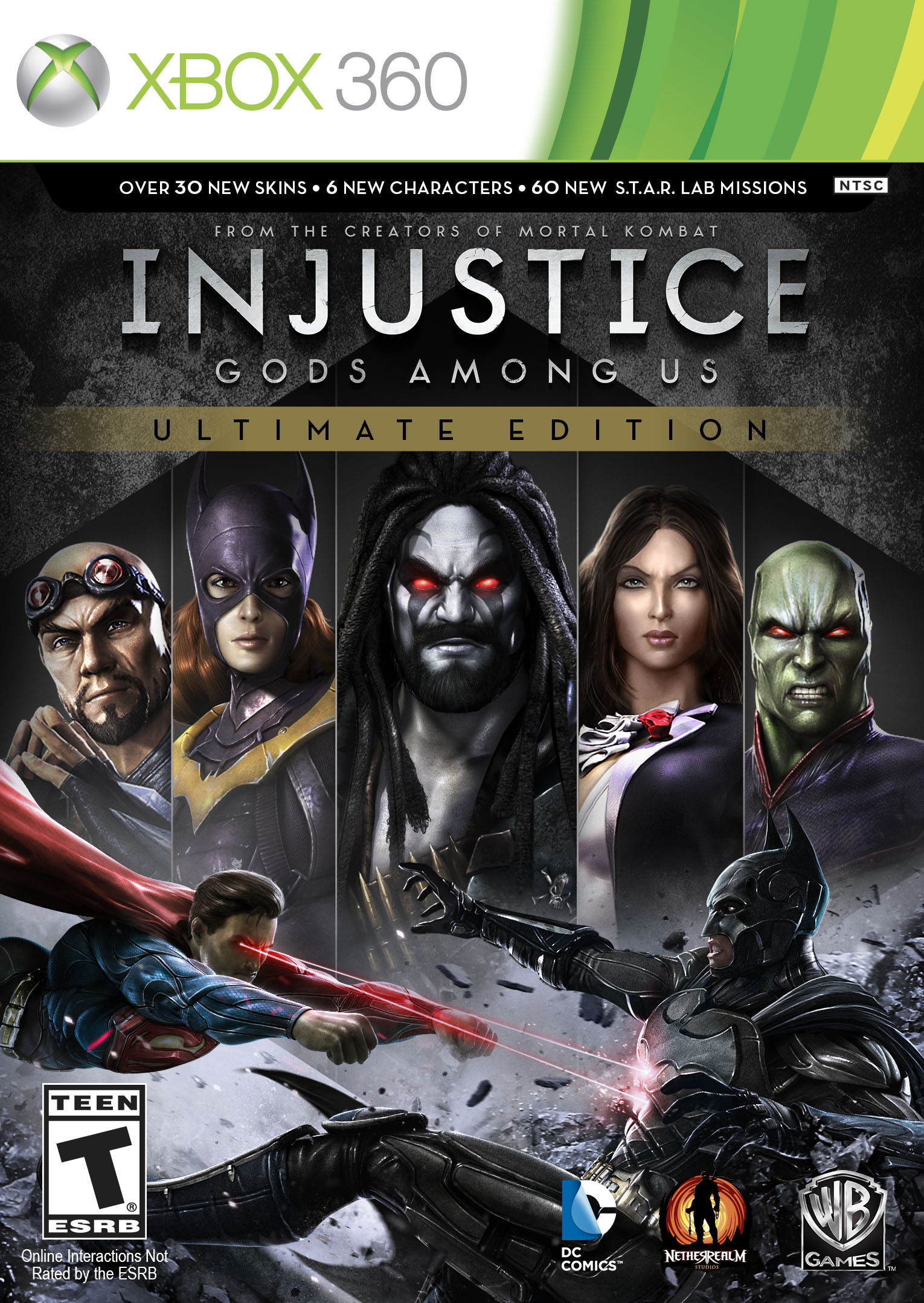 Injustice-LesDieuxSontParmiNousUltimateEdition 360 Jaquette 001