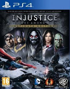Injustice-LesDieuxSontParmiNousUltimateEdition PS4 Jaquette 001