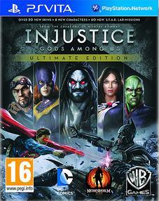 Injustice-LesDieuxSontParmiNousUltimateEdition PS Vita Jaquette 001