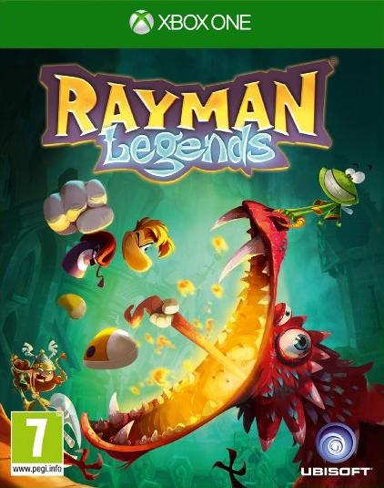 RaymanLegends Xbox One Jaquette 001