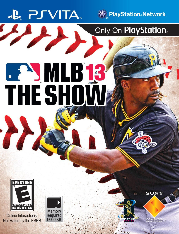 MLB13-TheShow PS Vita Jaquette 001