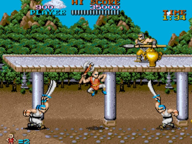 Capcomcollec2 PS2 editeur 014