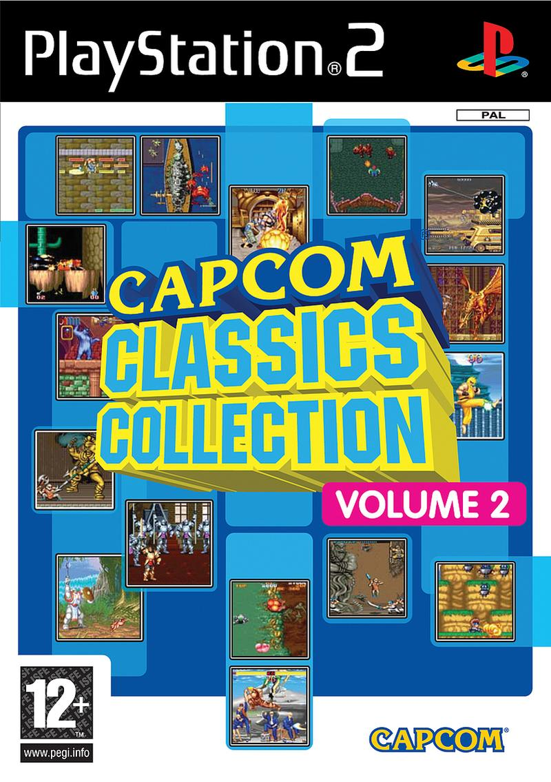 Capcomcollection2 PS2 jaquette