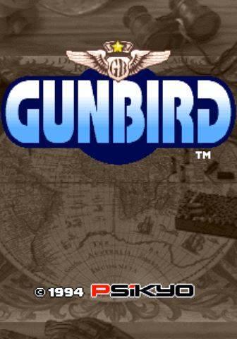 Gunbird Arcade Jaquette 001