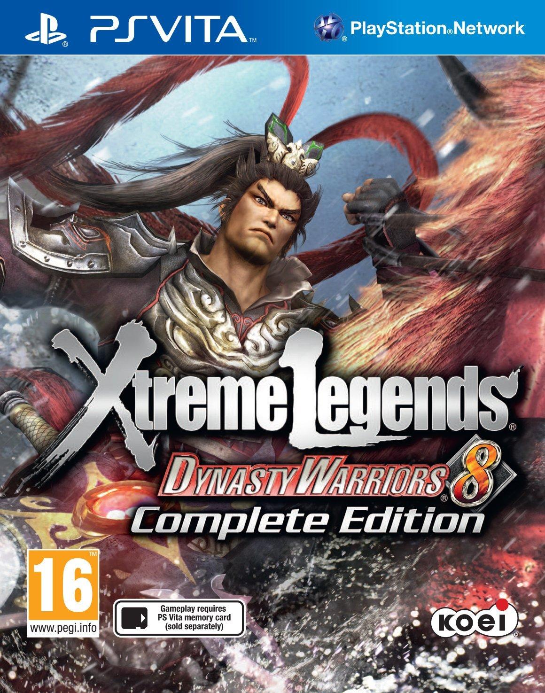 DynastyWarriors8-XtremeLegends PS Vita Jaquette 002