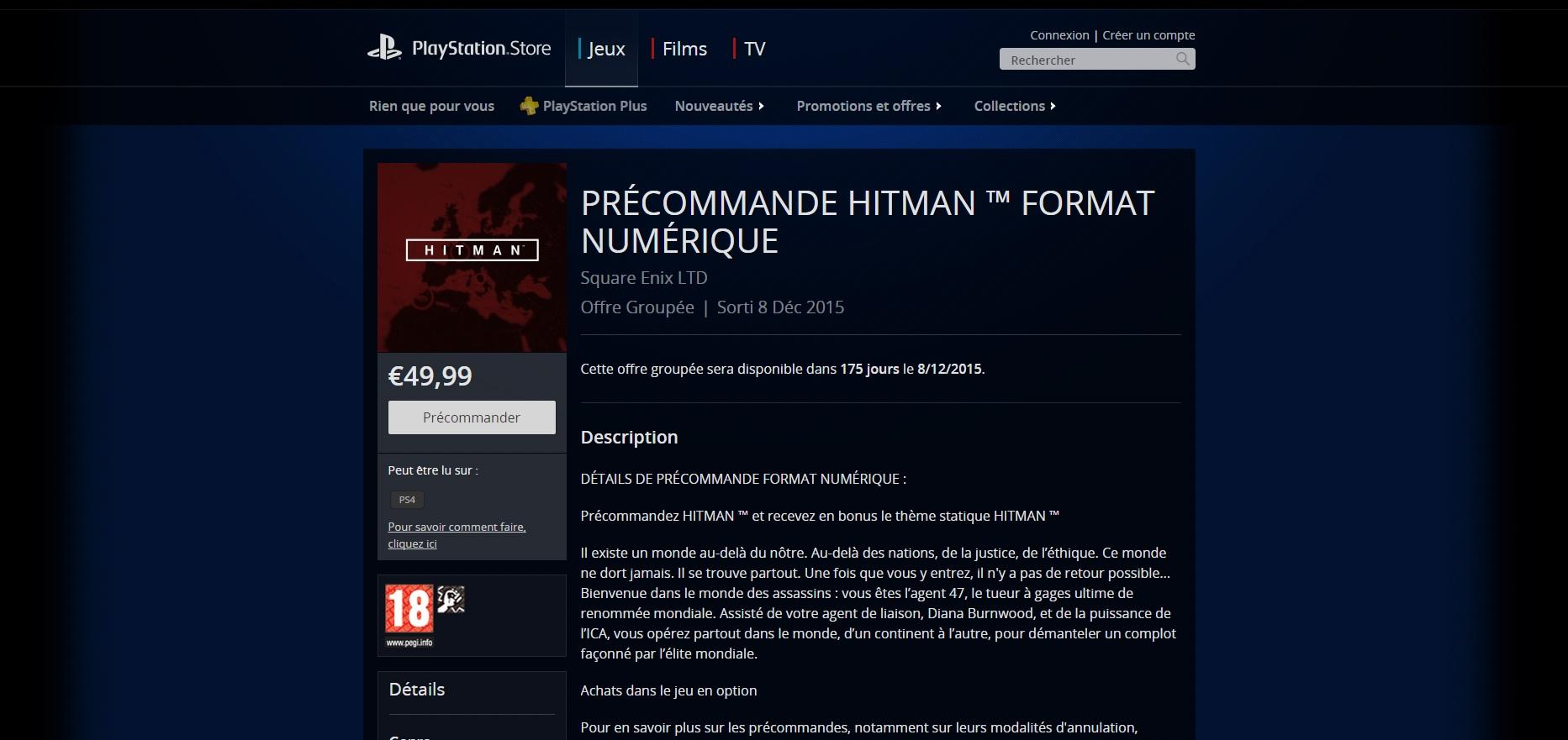 Hitman-PSN
