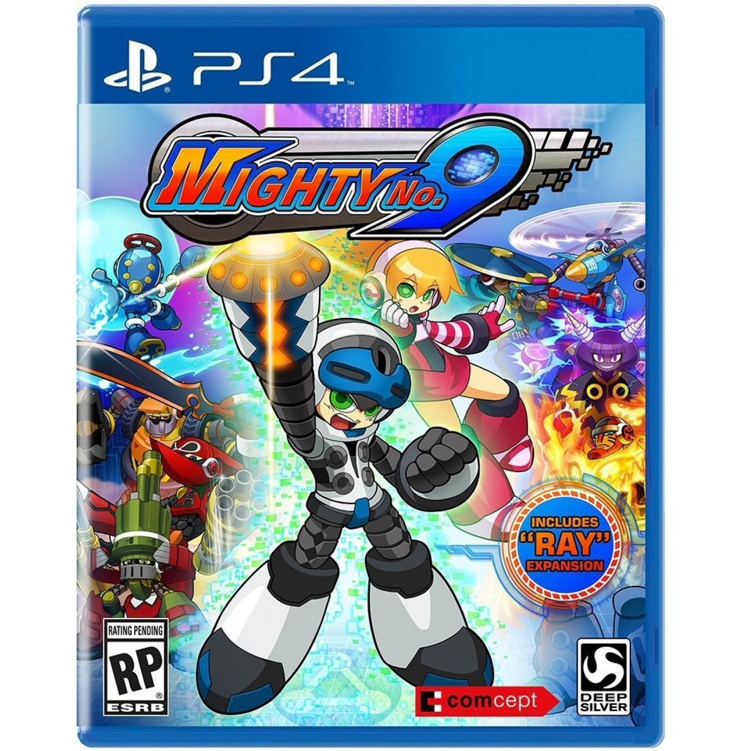 MightyNo.9 PS4 Jaquette 001
