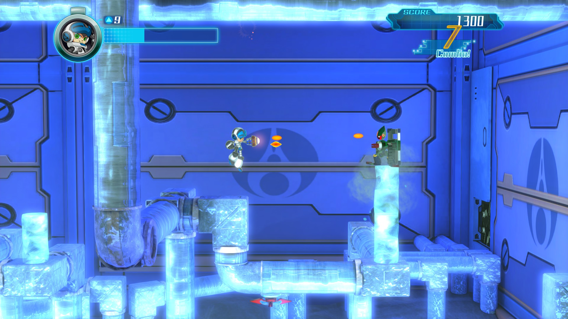 MightyNo.9 PS4 Test 001