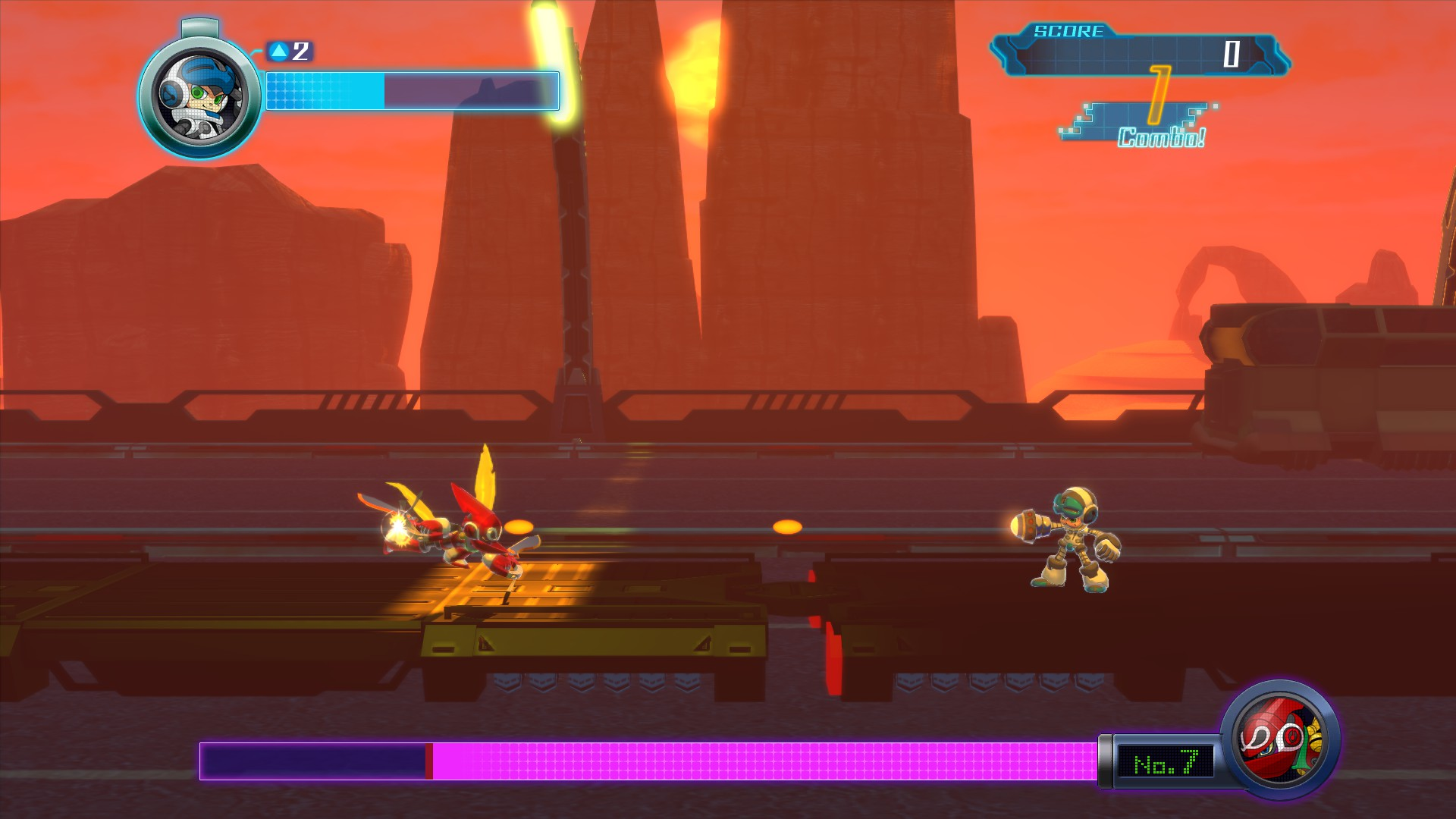 MightyNo.9 PS4 Test 004