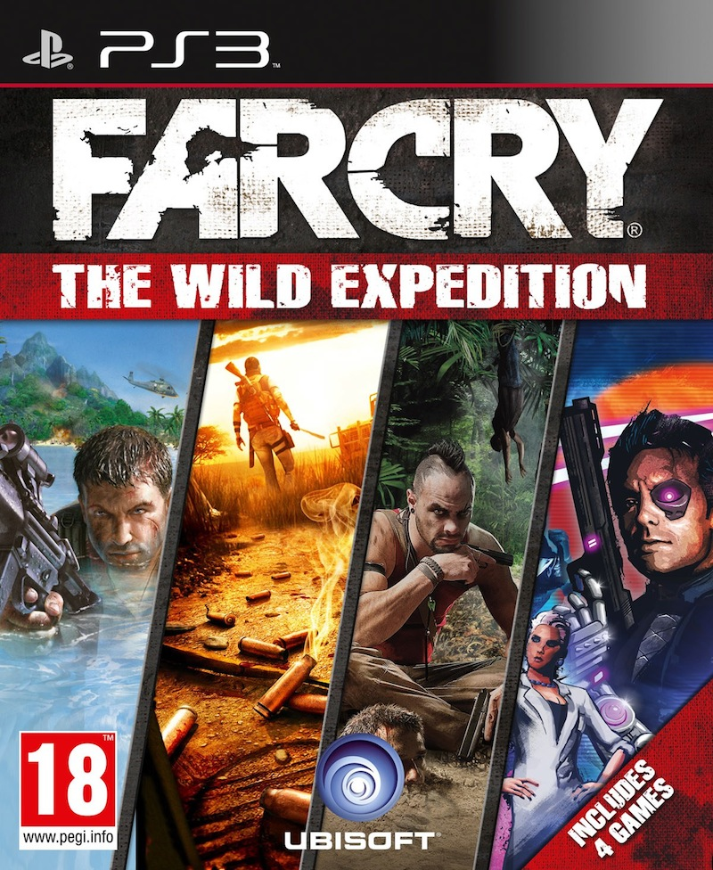 FarCry-TheWildExpedition PS3 Jaquette 001