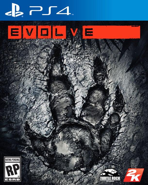 Evolve PS4 Jaquette 001