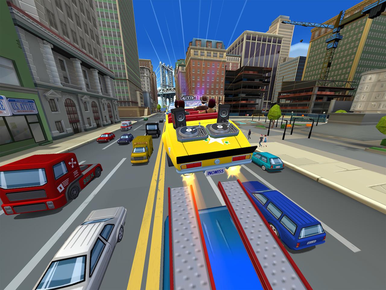 CrazyTaxi-CityRush Multi Editeur 001