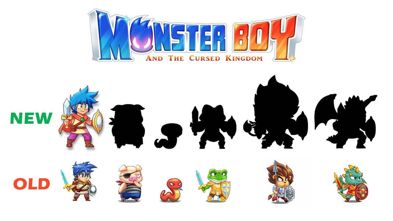 MonsterBoy Changementlook
