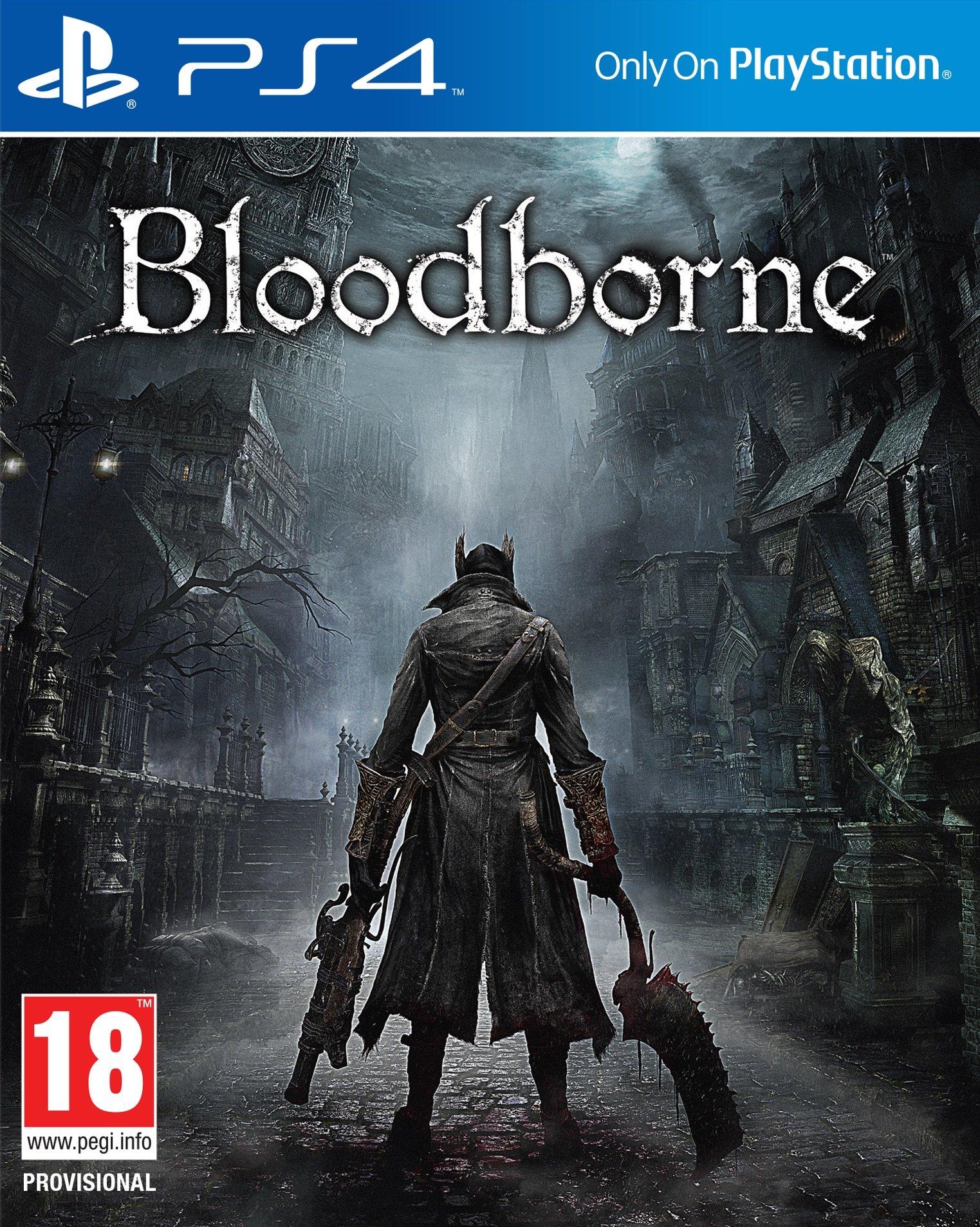 Bloodborne PS4 Jaquette 001