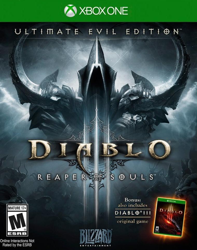 DiabloIII-ReaperofSouls Xbox One Jaquette 001
