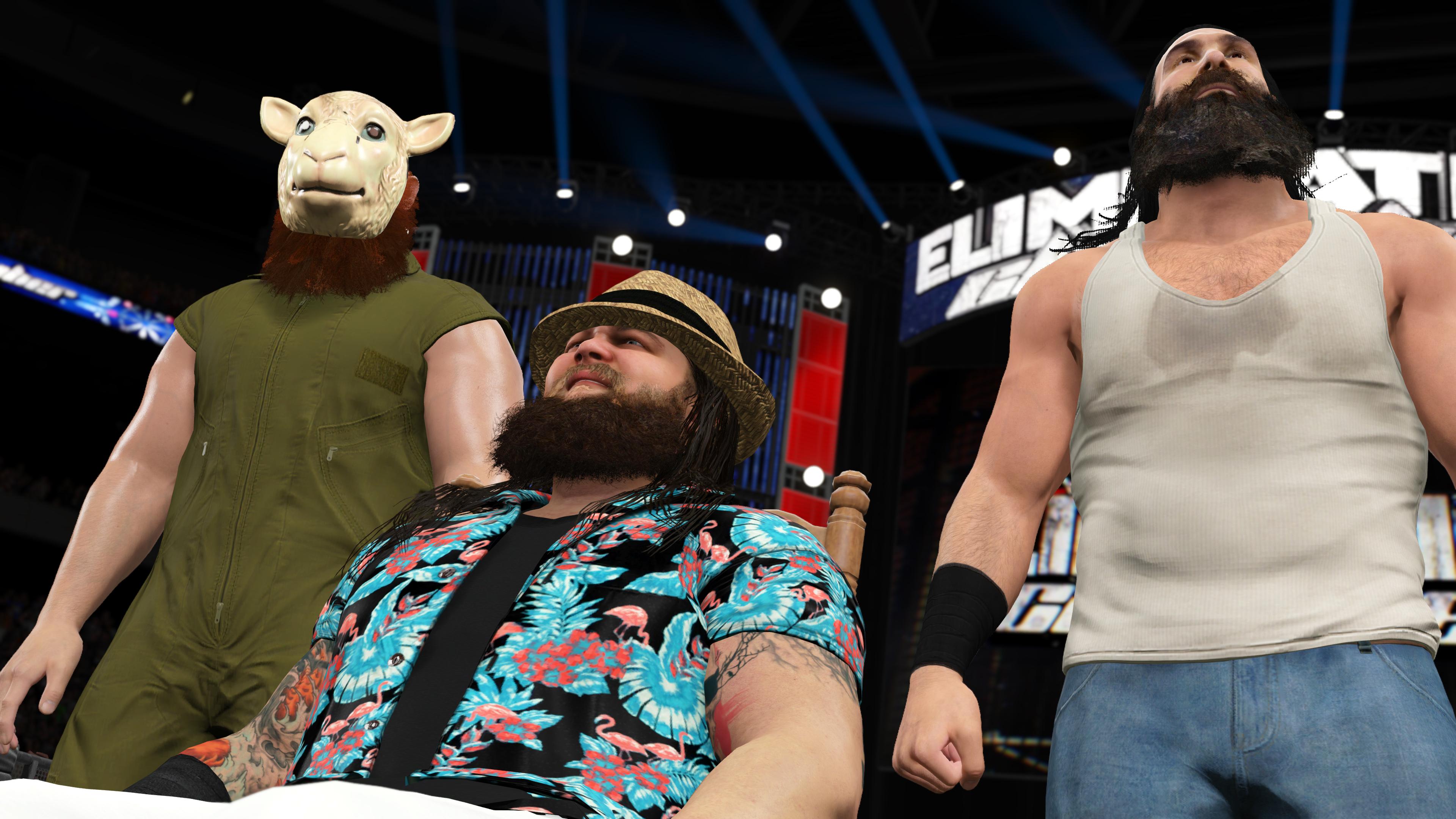 WWE2K15 Xbox One Editeur 002