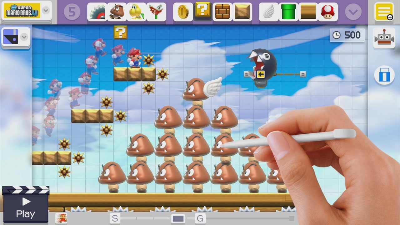 SuperMarioMaker WiiU Test 005