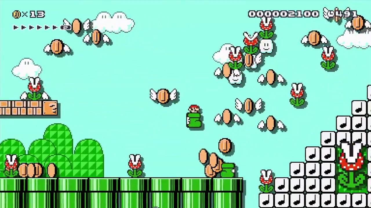 SuperMarioMaker WiiU Test 012