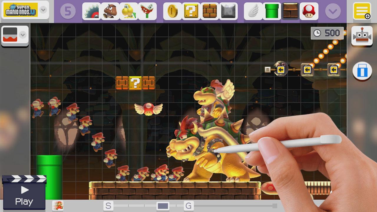 SuperMarioMaker WiiU Test 014
