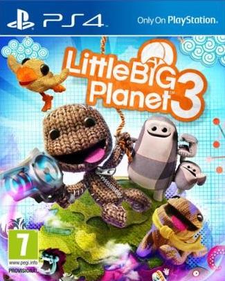 LittleBigPlanet3 PS4 Jaquette 001