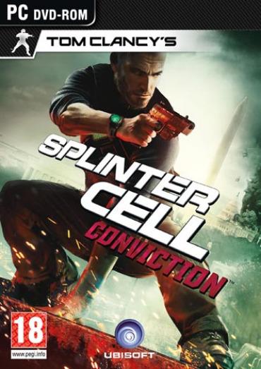 SplinterCellConviction PC jaquette001