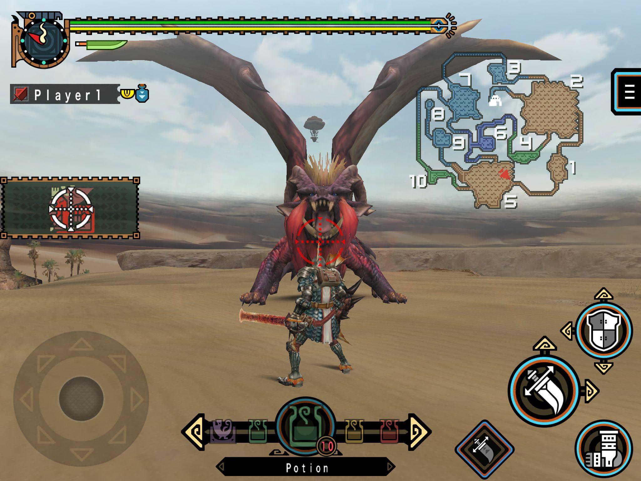 MonsterHunterFreedomUnite Multi Editeur 001