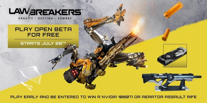 LawBreakers OpenBetaNJuillet2017