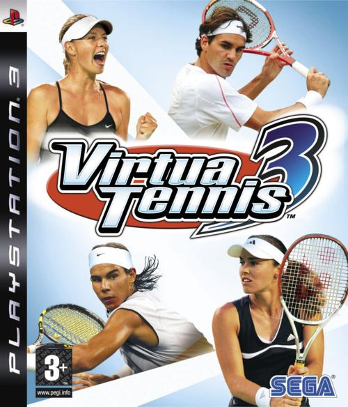 VirtuaTennis3 PS3 Jaquette 001