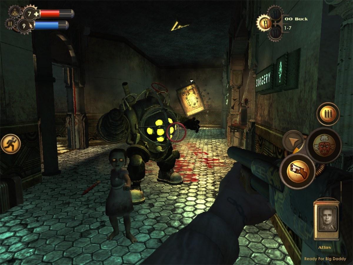 BioShock iPad Editeur 001