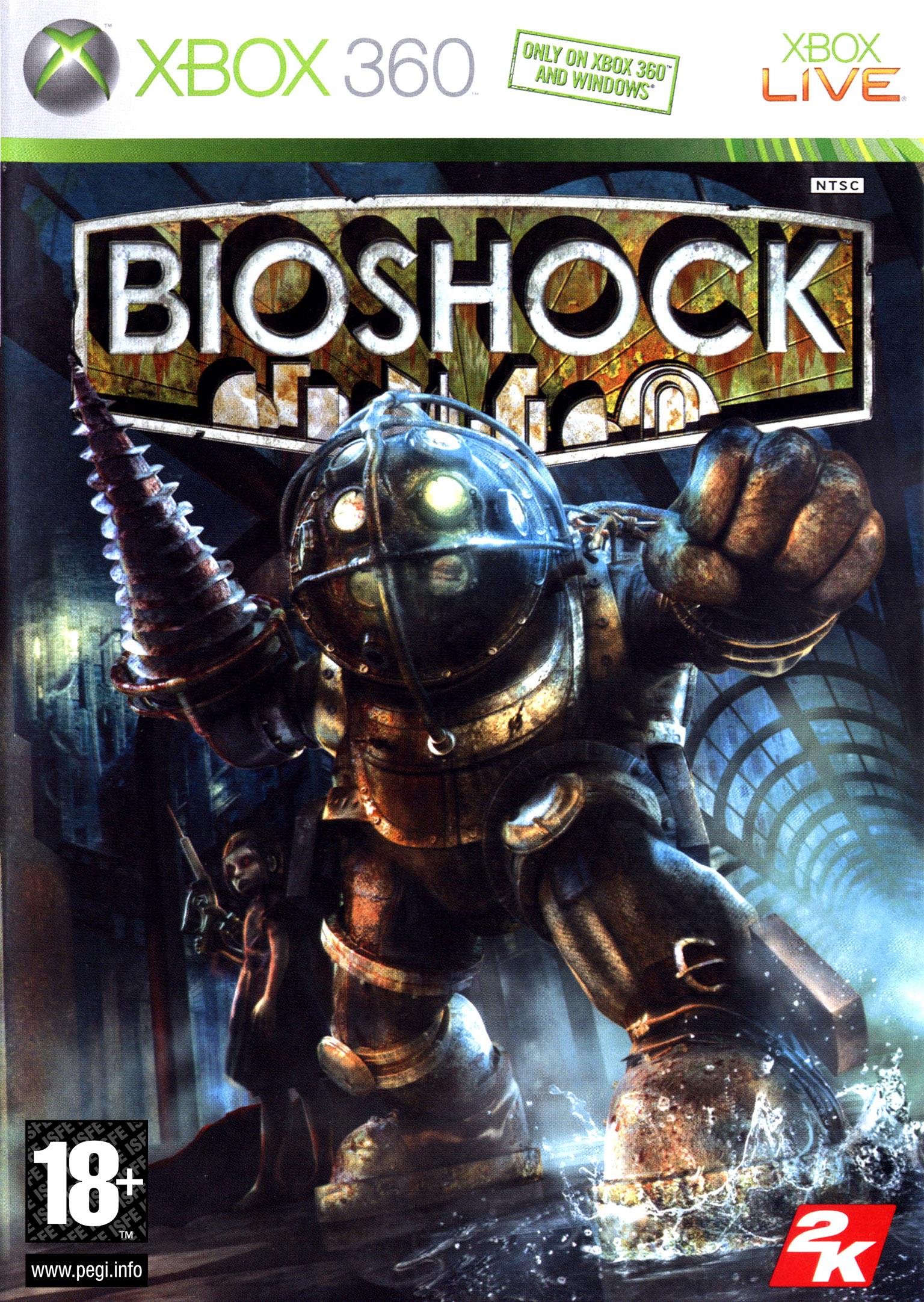 BioShock 360 Jaquette 004