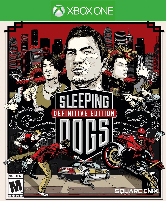 SleepingDogs Xbox One Jaquette 001